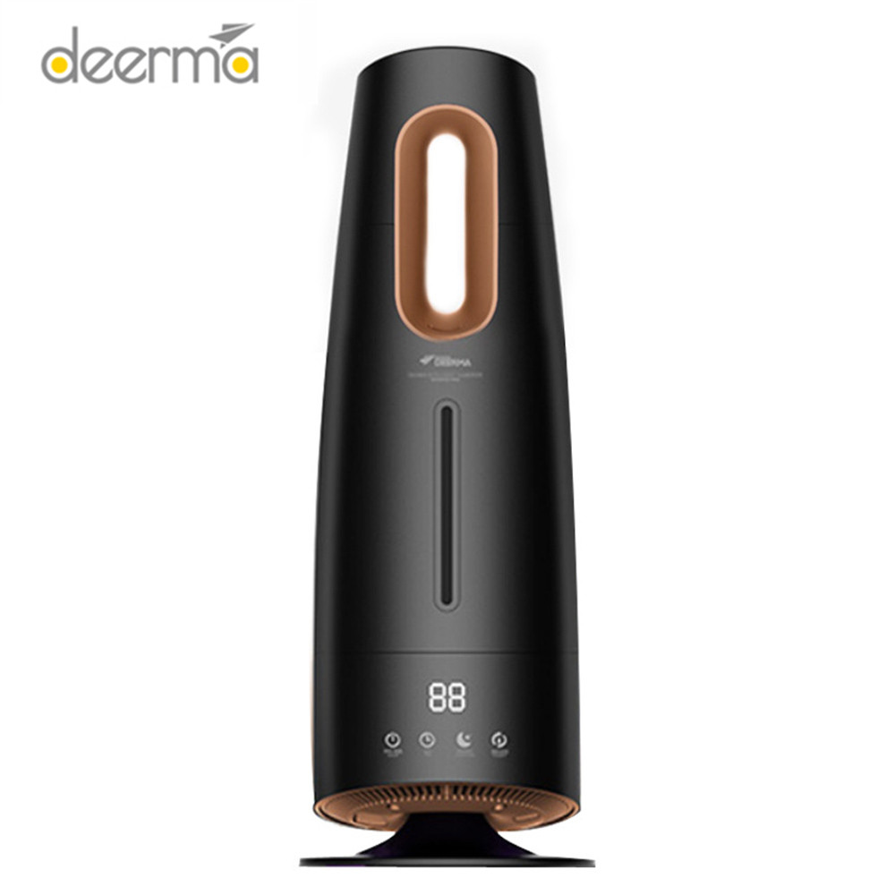 DEERMA 4L Air Humidifier Touch Screen Oil Diffuser Ultrasonic Humidifie Air Purifying Air-Conditioned For Rooms Office Household