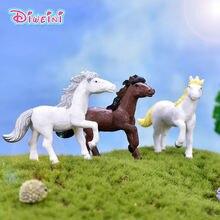 Фигурки героев мультфильма «сделай сам» имитация лошади модели