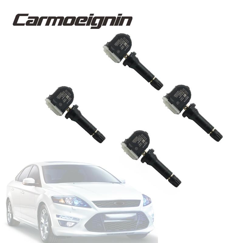 4 PCS Tire Pressure Monitor System Sensor EV6T-1A180-DC EV6T-1A150-DB For Ford Fiesta Van Focus F-Series Ka Kuga Mondeo Ranger