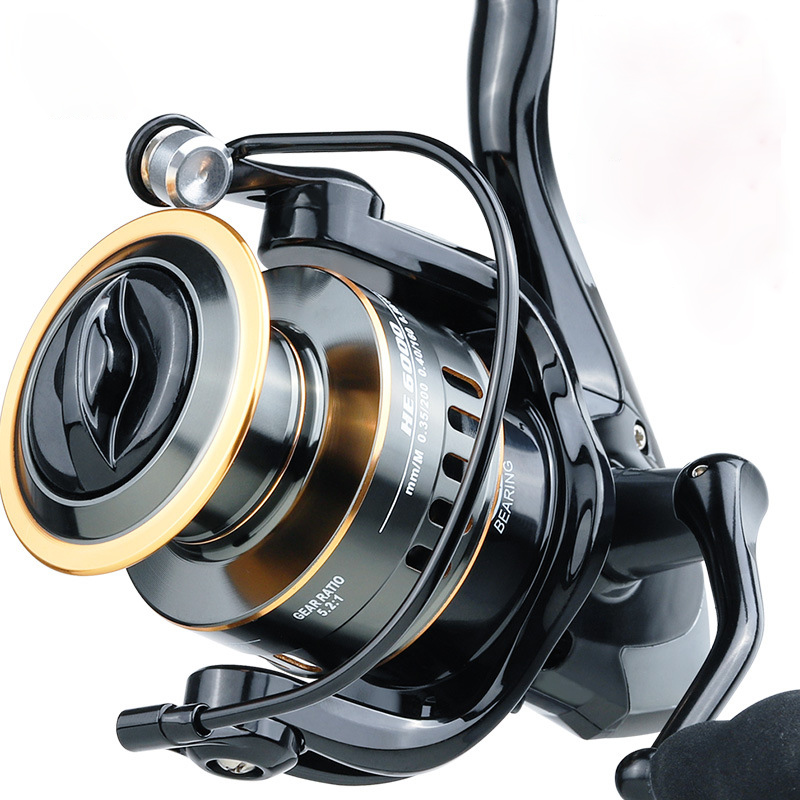 Fishing Reel HE7000 Max Drag 10kg 5.2:1 High Speed Metal Spool Spinning Reel Saltwater Reel Carp Reel Fishing|Fishing Reels| - AliExpress