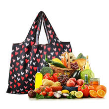 HOT Folding Floral Print Beach Travel Picnic Tote Reusable Shop Shoulder Bag Women Handbag Waterproof Portable Pouch Picnic Bags(China)
