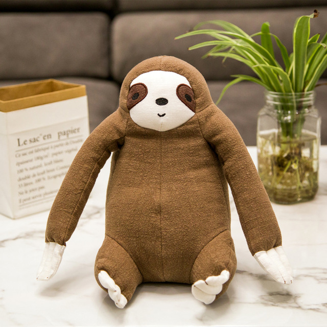 Sloth Dolls & Accessories Imitation Sloth Plush Toys Stuffed Animals & Plush Baby Classic Toys Baby Accompany kid Action & Toy