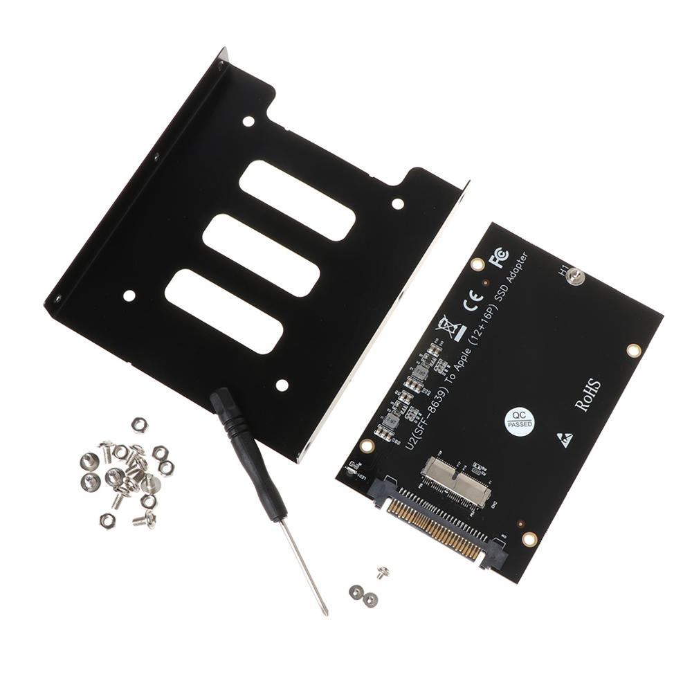 <font><b>M2</b></font> SSD <font><b>Adapter</b></font> SSD <font><b>M2</b></font> Converter for SSD Drive SFF-8639 U.2 <font><b>Adapter</b></font> Card Kit for <font><b>MacBook</b></font> Air Pro Retina 2013 2014 2015 Y5GE image