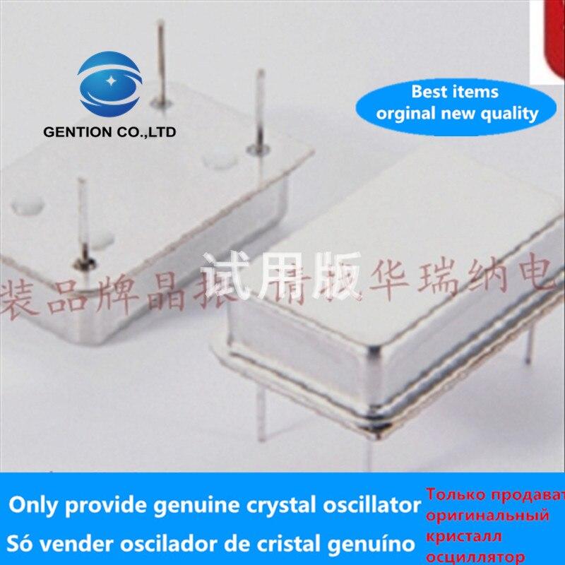 5pcs 100% Orginal New In-line Active Crystal Oscillator OSC Clock Vibration Rectangular DIP-4 4.096MHZ 4.096MHZ Full Size