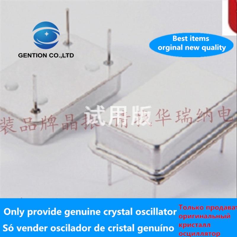 5pcs 100% Orginal New Inline Active Crystal Oscillator OSC Zhongzheng Full Size Rectangular DIP-4 16M 16MHZ 16.000MHZ