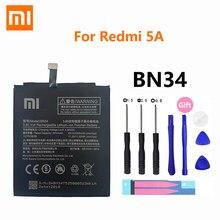 100% Оригинальный Xiao Mi аккумулятор BN34 3000 мАч для Xiaomi Redmi 5A Redmi5A 5,0