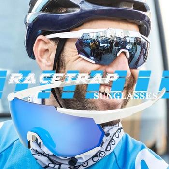 2020 Racetrap S3 cycling glasses For Men Women sport sunglasses bike glasses bicycle goggles cycling eyewear Goggles Eyewear 2020 polarized cycling sunglasses mtb sport tr90 cycling glasses goggles bicycle mountain bike glasses men women cycling eyewear