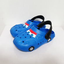 Kids Mules & Children Clogs Summer Baby Boys Girls Crock Sandals Flat Heel Cartoon Beach No-Slip Slippers Garden Car Sport Shoes
