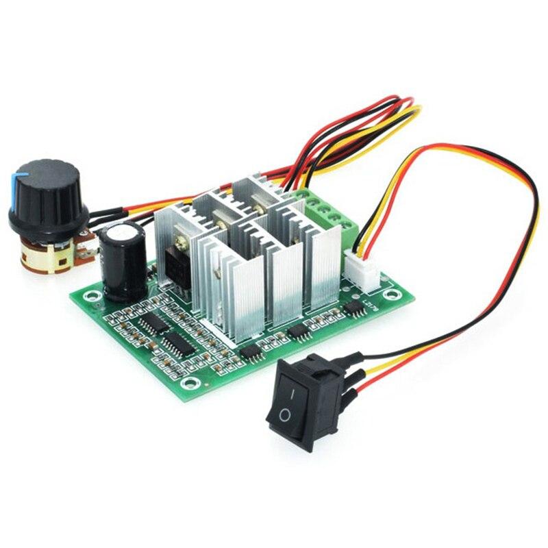 TOP BLDC Drei Phase Bürstenlosen Sensorlose Motor Controller BL01 15A Gewaltsamen Fan Modulation DC5V6V9V12V36V Vorwärts und Rückwärts