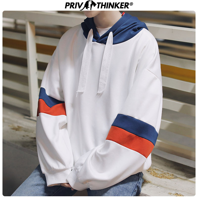 Privathinker Harajuku Oversized Winter Hoodie Men Women Long Sleeve Patch Sweatshirts Coat Korean Loose Sweatshirt 2017
