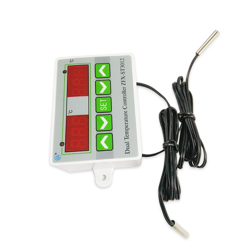 ZFX-ST3012 LED Digital Dual Thermometer Temperature Controller Thermostat Incubator Microcomputer Dual