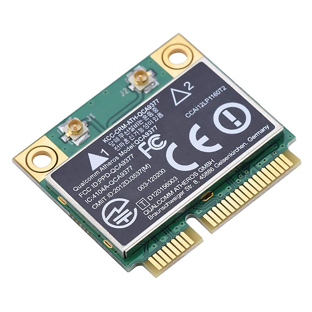 WIFI Card Atheros QCA9377 Wireless Dual Band 433Mbps WLAN 802.11ac 2.4G/5G Bluetooth 4.1 Mini PCI-E Network Adapter AW-CM251HMB 2
