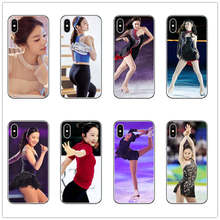 цена Korea Queen kim yuna Phone Case cover Silicone for iphone 7 8 6 6S PLUS 5 5S SE X XR XS MAX phone cases JAPAN Marin Honda coques