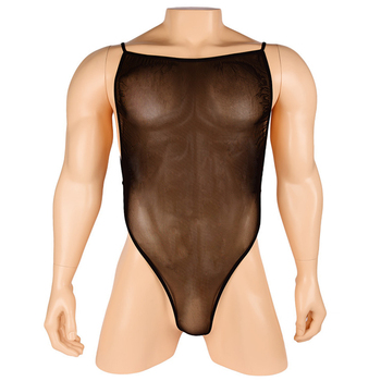Male Sexy Lingerie Sheer Mesh Backless Teddies Tank Top Sissy Gay See Through G-String Back Bodysuit Unitard Leotard male sexy lingerie sheer mesh backless teddies tank top sissy gay see through g string back bodysuit unitard leotard