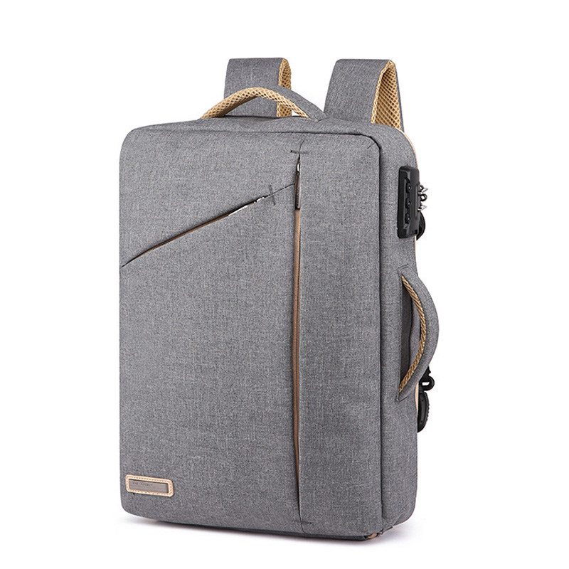 Image 2 - Stylish Slim 15.6 Inch Laptop Backpack Men Office Work Business  Backpacks 2019 Unisex Black Ultralight School Bags for Boys  ThinBackpacks