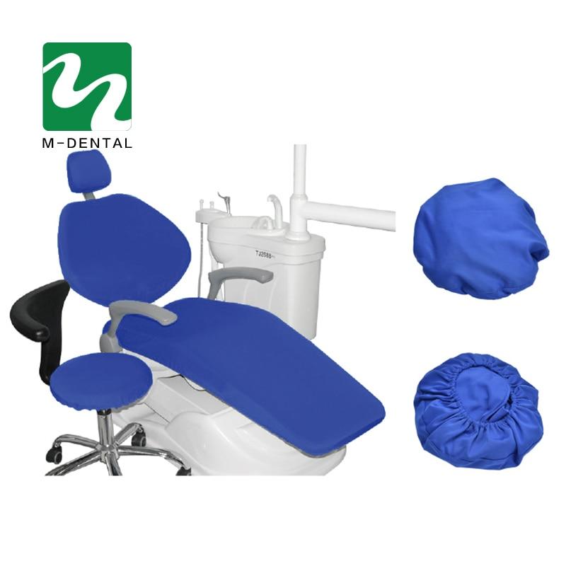 4 шт./компл. высокие эластичные Зубные Блок Чехлы стоматологическое кресло сиденья Защитный чехол Комплект сиденье протектор комплект - Цвет: dark blue