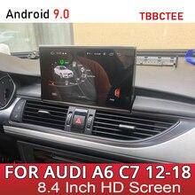 Car Multimedia Gioco Per Audi A6 S6 C7 4G 2012 ~ 2016 2017 2018 MMI RMC 4G Android auto Stereo Radio di Navigazione di GPS Dello Schermo di Tocco