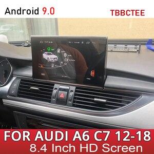 Image 1 - Kit multimídia automotivo para audi, audi a6, s6, c7, 4g, 2012 ~ 2016, 2017, 2018, mmi rmc, 4g, android rádio estéreo automotivo com navegação gps, tela sensível ao toque
