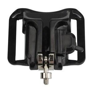 """Image 3 - Support de boucle de verrouillage de la taille de tir pour GoPro Hero 7 6 5 Yi 4k Nikon SJCAM H9r sangle étui araignée avec accessoire de vis 1/4"""""""