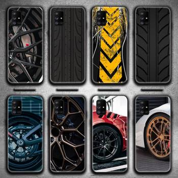 Sports car wheel Phone Case For Samsung Galaxy A21S A01 A11 A31 A81 A10 A20E A30 A40 A50 A70 A80 A71 A51 image
