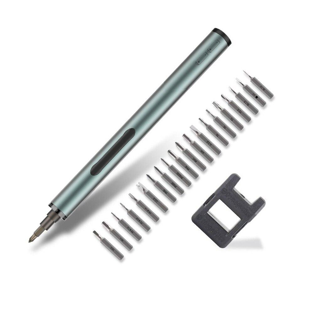 BST 9911B Multifunction Precision Mini Cordless Electric Screwdriver Disassembling Repair Tool Kit For Phone Tablet Computer