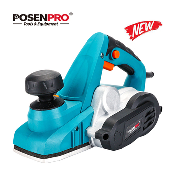 POSENPRO 900W Electric Planer Variable Cut Depth with Dust Bag Parallel Fence Bracket 3mm Cut Depth