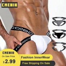 CMENIN – pantalon Jockstrap en coton pour hommes, Sexy, à la mode, respirant, String G, BS3501