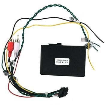 for Mercedes Benz E-Class W211 E200 E220 E230 AUX Car Optical Fiber Decoder Box Amplifier Adapter 2002-2012