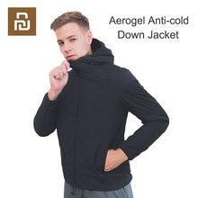 Youpin Aerogel Kalten Anzug Jacke Parka Winddicht Wasserdichte Material Mit Kapuze Licht Raum Anzug Für Kälte Anti kalt Nach Unten mantel