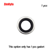 1шт 1% 2F8% 22 BSPP +% 2F M10 Bonded Seals for PCP Air Rifle Charging Filling Hose Pump Connections