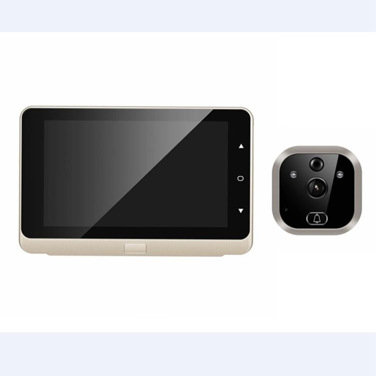 Tangxi C/ámara de Visor de Puerta Visor de Puerta Digital c/ámara HD 1MP Visor de Mirilla de Puerta con Pantalla LCD de 4.3 Pulgadas Vista de /ángulo de 90 /° visi/ón Nocturna por Infrarrojos