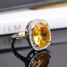 Classic women ring fashion vintage bohemia style wedding engagement
