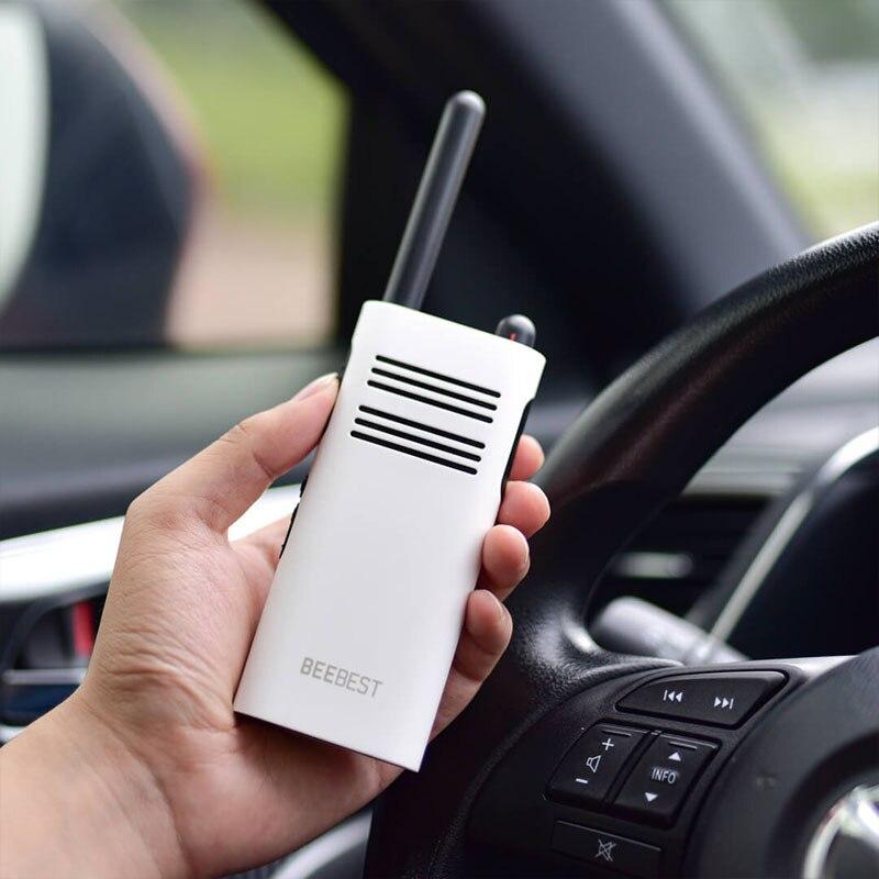 Image 3 - Original Xiaomi Beebest Smart Walkie talkie 1 5 km call 16 channel anti jamming Long standby handheld smart interphone-in Walkie Talkie from Cellphones & Telecommunications