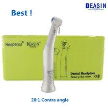 Beste Deasin 20:1 Contra Hoek Lage Snelheid Handstuk Voor Dental implant Micromotor Polish Tool Gratis verzending