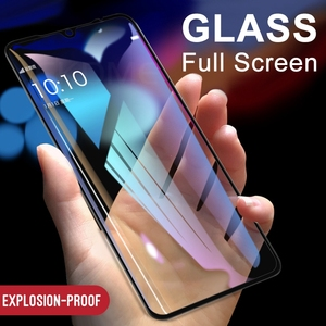 Image 3 - Verre de couverture complet pour Xiaomi Mi 9 Mi9 SE CC9 A3 Lite protecteur décran pour Redmi Note 8 Pro 8T 8 8A verre trempé + verre dappareil photo