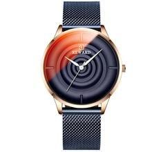 Reward herren uhren стеклянные часы для мужчин водонепроницаемые
