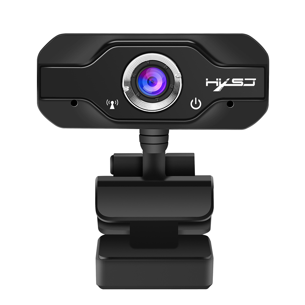HD Webcam Mini Computer PC WebCamera USB Driver-Free Built-In Dual Microphones For Live Broadcast Video Calling Conference Work