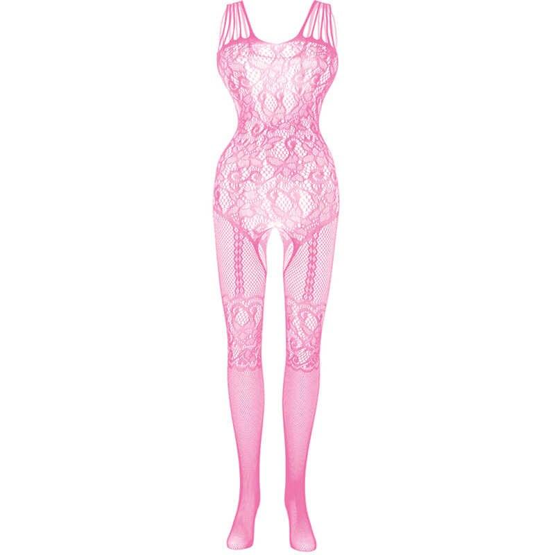 새로운 숙녀 멜빵 스타킹 속옷 섹시한 인형 오픈 팬티 스타킹 인쇄 Fishnet 그물 옷 그물 스타킹