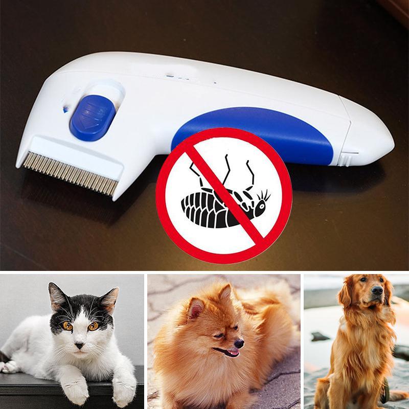 Limpiador de pulgas eléctrico removedor de Piojos para mascotas ...