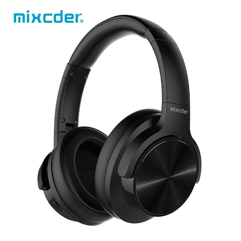 Mixcder E9 Aktive <font><b>Noise</b></font> <font><b>Cancelling</b></font> Wireless Kopfhörer Über-ohr Bluetooth Headset mit HiFi Tiefe Bass 3d-Stereo Audio Jack image