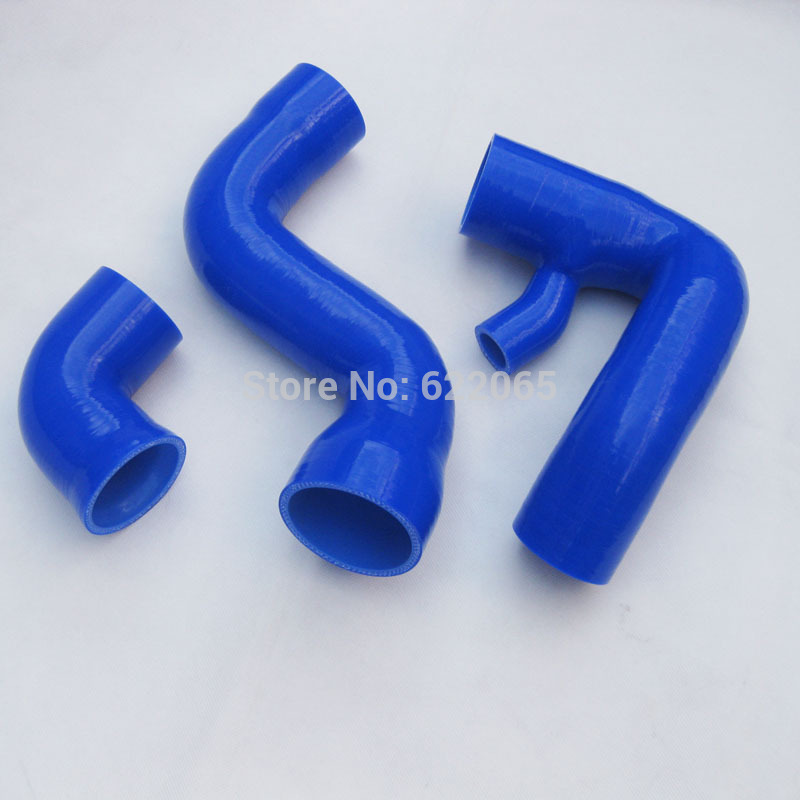 Turbo Silicone Induction Air Intake  Inlet Hose/Turbo charg pipe  FOR Audi A4 Passat B6 B7 1.8T BLUE
