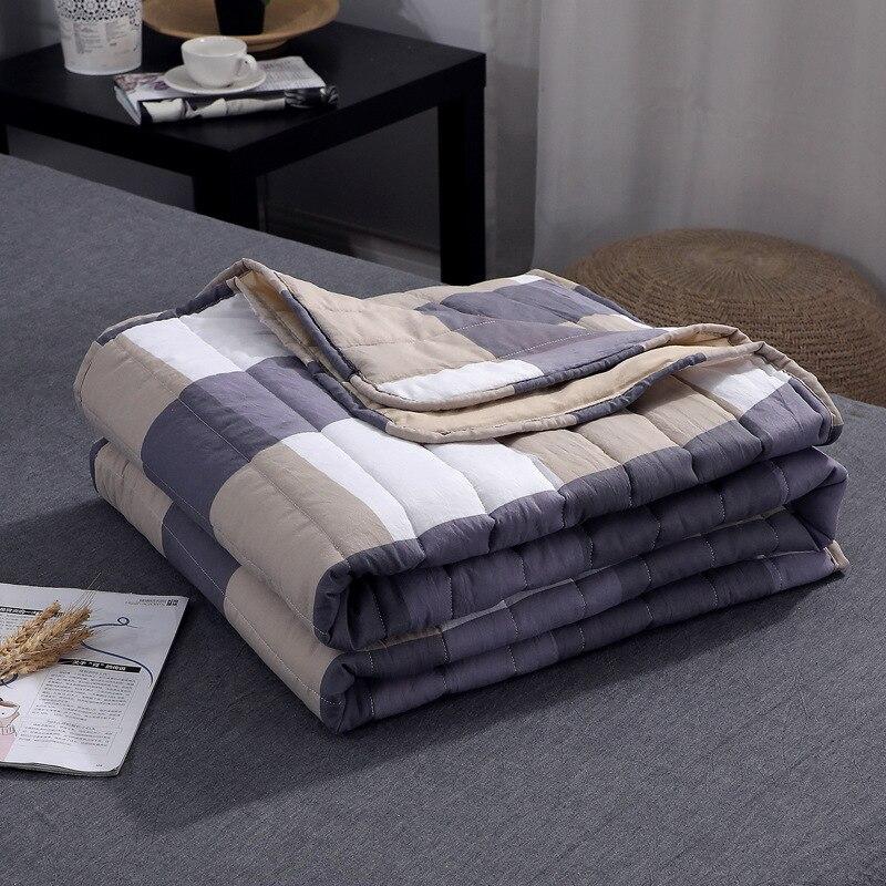 Плед кондиционер пледы одеяло лето хлопок тонкие одеяла офис диван полотенце одеяло хорошего качества одеяло с рукавами Одеяла      АлиЭкспресс