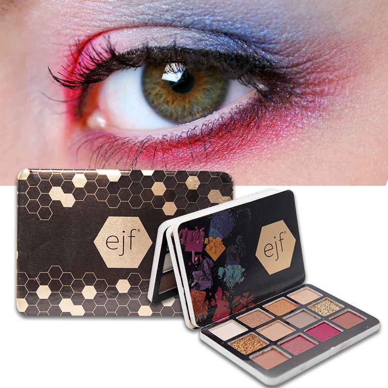 12 Colors Glitter Eyeshadow Makeup Pallete Matte Eye Shadow Palette Shimmer And Shine Diamond Eyeshadow Powder Pigment Cosmetics