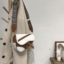 Locimole Vintage French Style Women Bags Fashion Lamb Hair S