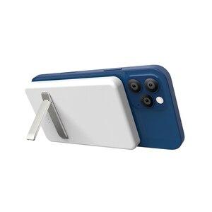 Image 4 - 15W dla iPhone 12 Mini Max Magsafe Qi bezprzewodowa ładowarka 5000mAh Power Bank dla iPhone 12 11 Pro wspornik zapasowy przenośny Powerbank