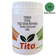 Green Food Renklendiricisi Powder Water Soluble 1 kg