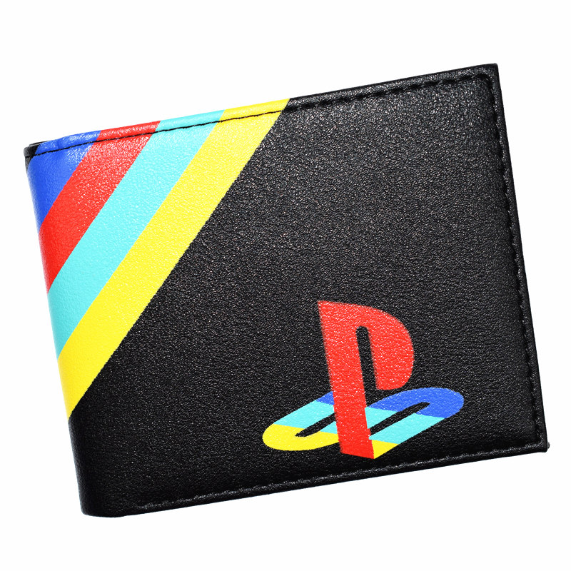FVIP Hot Sell Playstation Wallet Men's Short Purse Cool Design Boy's Wallets With Coin Pocket