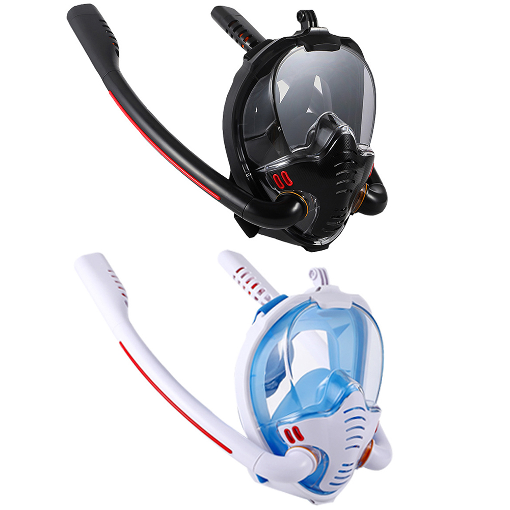 Children Adult Scuba Diving Mask Full Face Snorkeling Underwater Anti Fog Snorkeling Diving Mask for Swimming Spearfishing