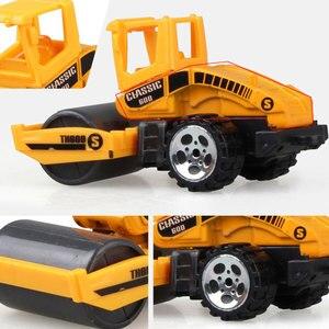 Image 3 - 1:64 vehículos de ingeniería multitipo de imitación de inercia, tamaño mediano, excavador para niños, modelo de coche, juguetes para niño