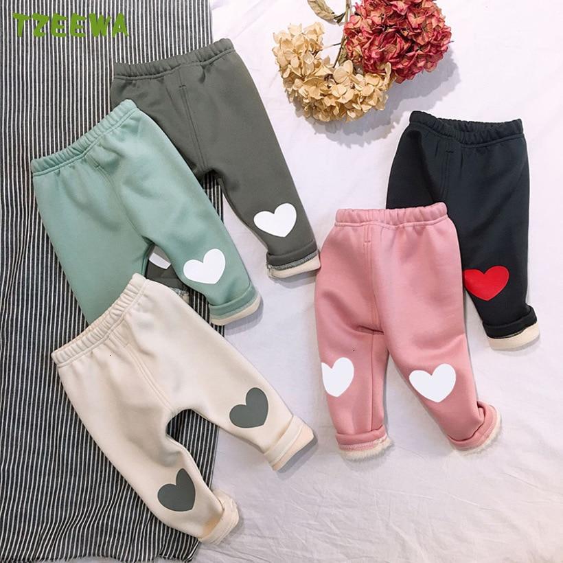 2019 Winter Baby Pants Warm  Fleece Newborn Baby Clothes Toddler Pantalones Infant Trousers Velvet Baby Leggings Baby Girl Pants